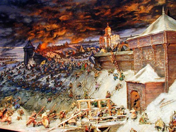 нашествие татаро монгол