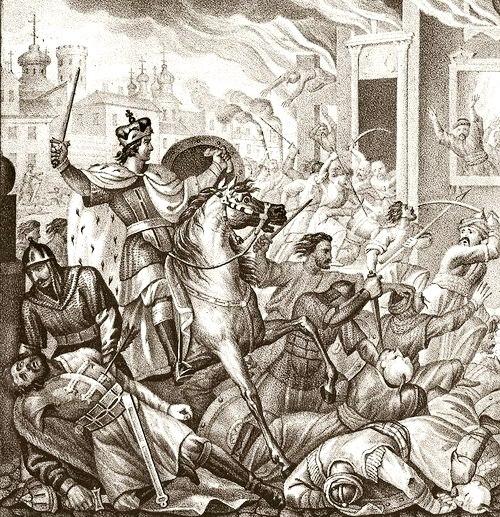 бунт против татар