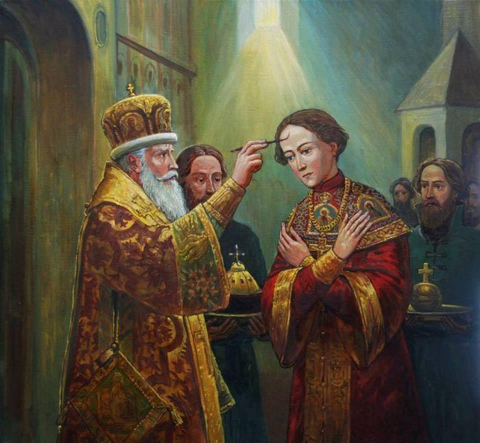первый русский царь из династии Романовых