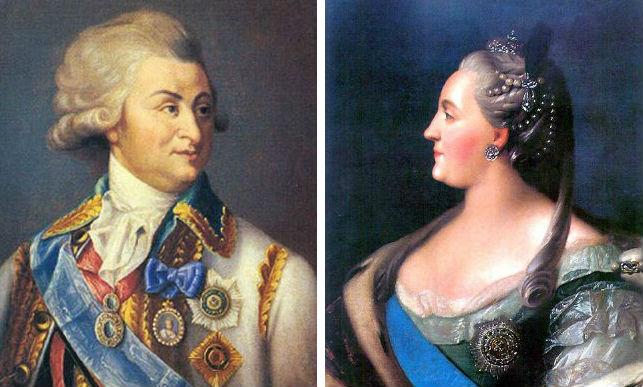 Потемкин и Екатерина