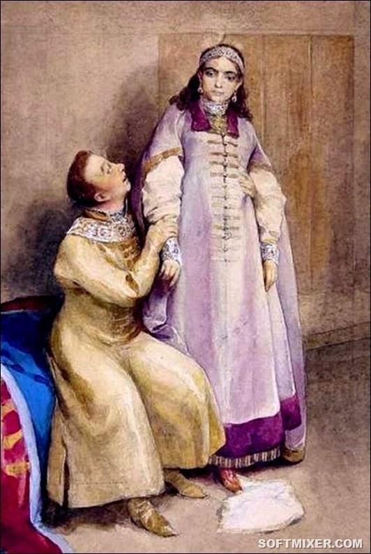 Лжедмитрий и царевна Ксения картинка