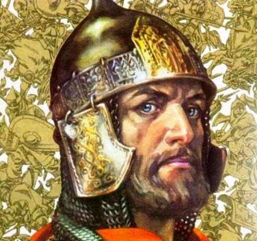 портрет Александра невского