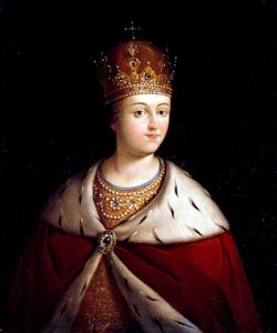 портрет царицы Софьи