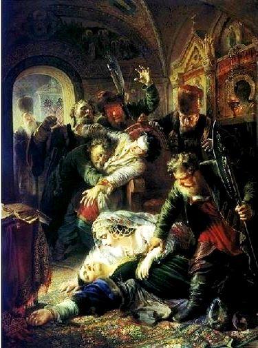 убийство царя