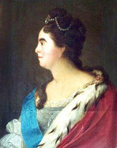 царица Екатерина 1