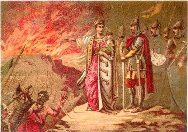 княгиня Ольга и Игорь