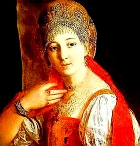правление жены Василия Ивановича