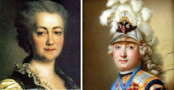 Орлов и Екатерина