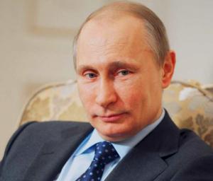 На фото Путин Владимир Владимирович
