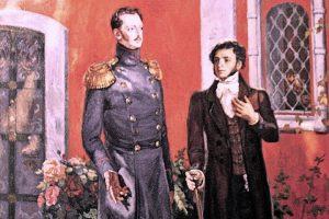 пушкин и царь