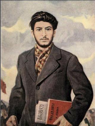 юный джугашвили