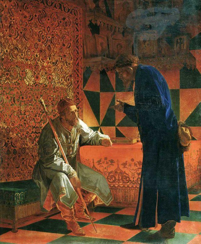 Скуратов и Грозный