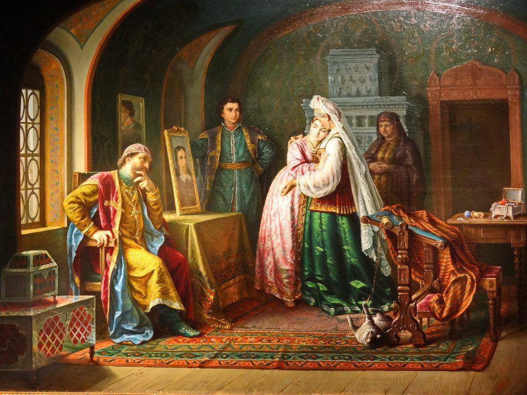 Борис Годунов и дочь его Ксения